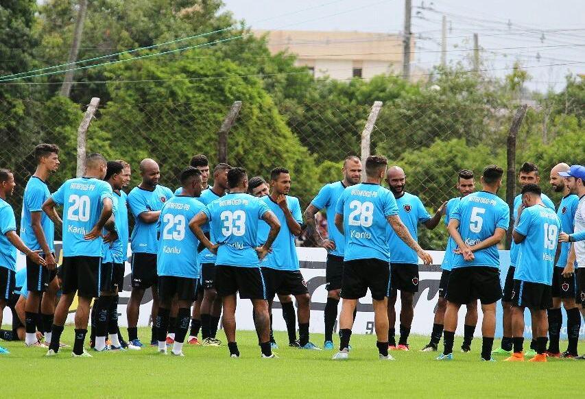 34ac29c49b PB Esportes Botafogo encerra preparação para o clássico com treino ...