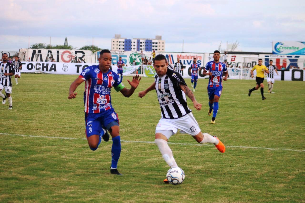 79966337a PB Esportes Treze vence Itabaiana-SE e assume liderança do grupo A9 ...