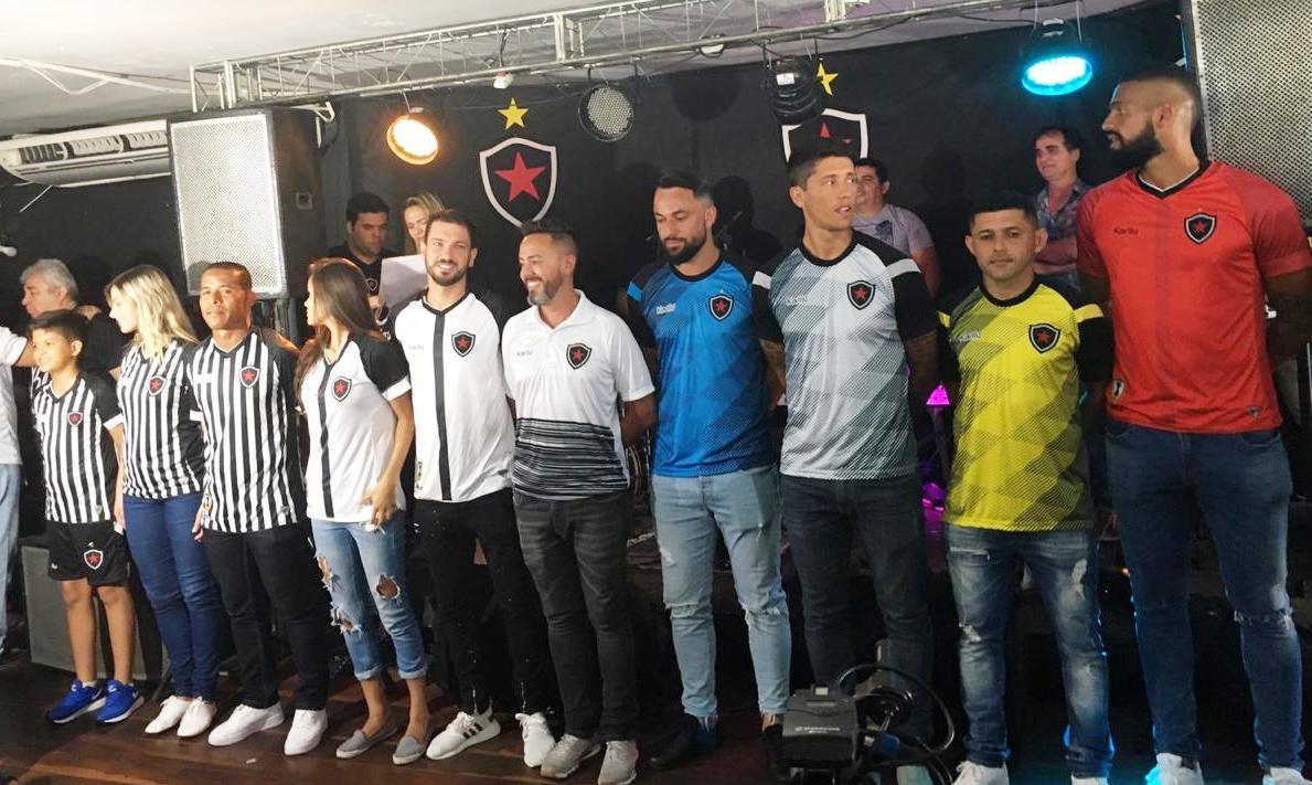 PB Esportes Botafogo-PB apresenta novos uniformes para a próxima ... 155a53856bba9